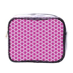 Cute Pretty Elegant Pattern Mini Travel Toiletry Bag (one Side) by creativemom