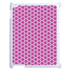 Cute Pretty Elegant Pattern Apple Ipad 2 Case (white) by creativemom
