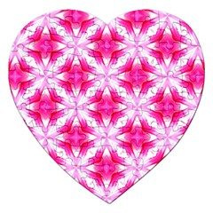 Cute Pretty Elegant Pattern Jigsaw Puzzle (heart) by creativemom