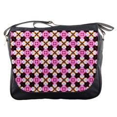 Cute Pretty Elegant Pattern Messenger Bag by creativemom