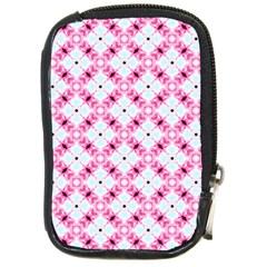 Cute Pretty Elegant Pattern Compact Camera Leather Case by creativemom