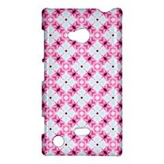 Cute Pretty Elegant Pattern Nokia Lumia 720 Hardshell Case by creativemom