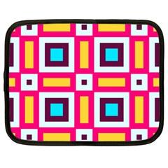 Cute Pretty Elegant Pattern Netbook Sleeve (xl) by creativemom