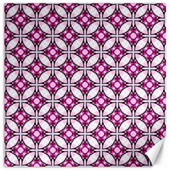 Cute Pretty Elegant Pattern Canvas 12  X 12  (unframed) by creativemom