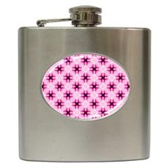 Cute Pretty Elegant Pattern Hip Flask by creativemom