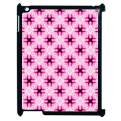 Cute Pretty Elegant Pattern Apple Ipad 2 Case (black) by creativemom