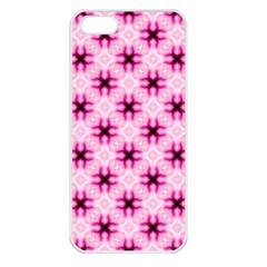 Cute Pretty Elegant Pattern Apple Iphone 5 Seamless Case (white) by creativemom