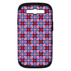 Cute Pretty Elegant Pattern Samsung Galaxy S Iii Hardshell Case (pc+silicone) by creativemom