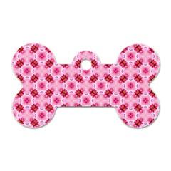 Cute Pretty Elegant Pattern Dog Tag Bone (one Sided) by creativemom