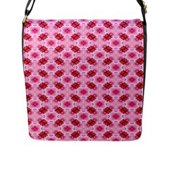 Cute Pretty Elegant Pattern Flap Closure Messenger Bag (large) by creativemom