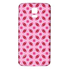 Cute Pretty Elegant Pattern Samsung Galaxy S5 Back Case (white) by creativemom