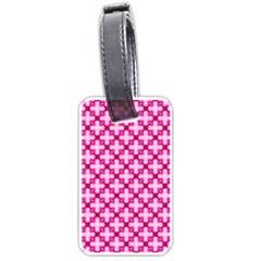 Cute Pretty Elegant Pattern Luggage Tag (one Side) by creativemom