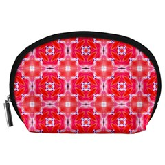 Cute Pretty Elegant Pattern Accessory Pouch (large) by creativemom