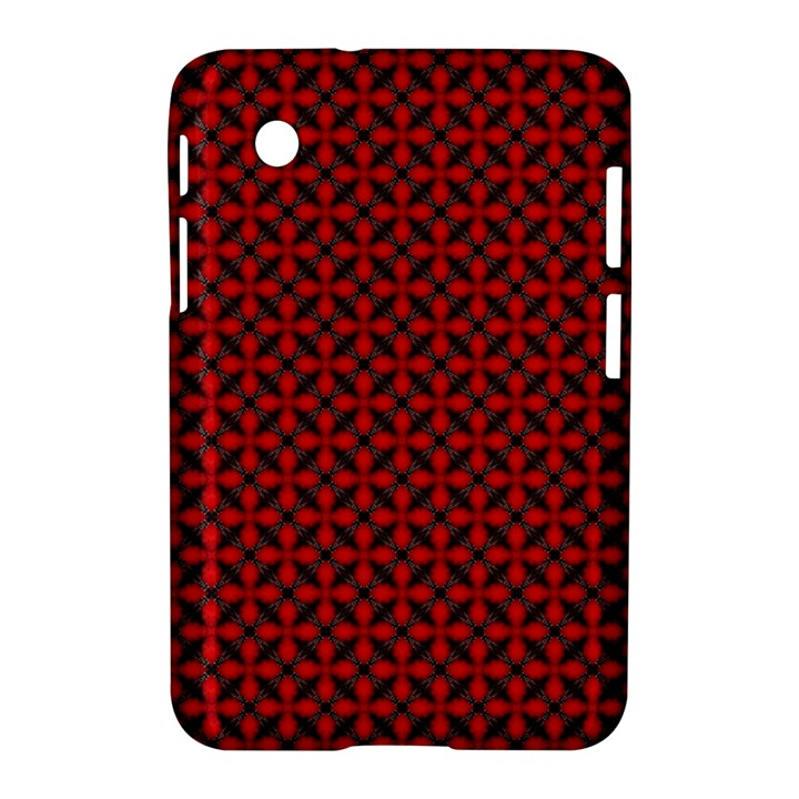 Cute Pretty Elegant Pattern Samsung Galaxy Tab 2 (7 ) P3100 Hardshell Case