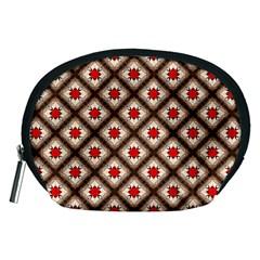 Cute Pretty Elegant Pattern Accessory Pouch (medium) by creativemom