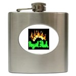Royal Flush  Hip Flask (6 oz)