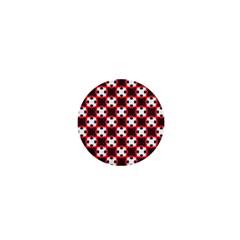 Cute Pretty Elegant Pattern 1  Mini Button Magnet by creativemom