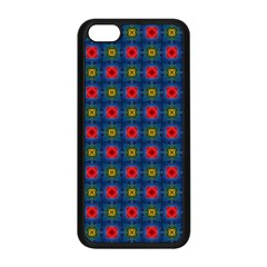 Cute Pretty Elegant Pattern Apple Iphone 5c Seamless Case (black) by creativemom