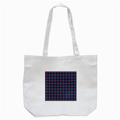 Cute Pretty Elegant Pattern Tote Bag (white) by creativemom
