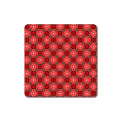 Cute Pretty Elegant Pattern Magnet (square) by creativemom