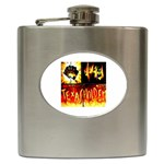 Ultimate Quad Aces Texas Hold Em - Hip Flask (6 oz)