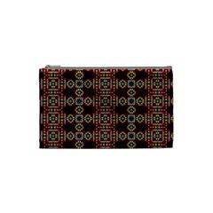 Cute Pretty Elegant Pattern Cosmetic Bag (small) by creativemom