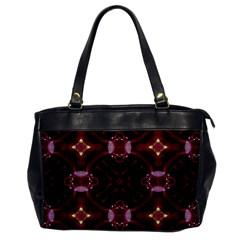 Cute Pretty Elegant Pattern Oversize Office Handbag (one Side) by creativemom