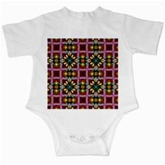 Cute Pretty Elegant Pattern Infant Bodysuit by creativemom