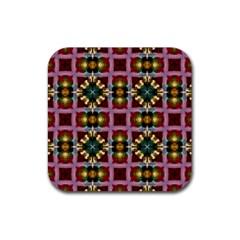 Cute Pretty Elegant Pattern Drink Coasters 4 Pack (Square)
