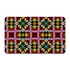Cute Pretty Elegant Pattern Magnet (Rectangular)