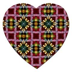 Cute Pretty Elegant Pattern Jigsaw Puzzle (Heart)