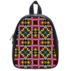 Cute Pretty Elegant Pattern School Bag (Small)