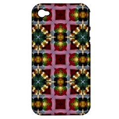 Cute Pretty Elegant Pattern Apple iPhone 4/4S Hardshell Case (PC+Silicone)