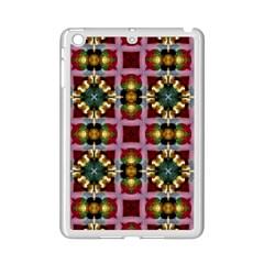 Cute Pretty Elegant Pattern Apple iPad Mini 2 Case (White)