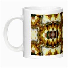 Cute Pretty Elegant Pattern Glow In The Dark Mug by creativemom