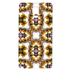 Cute Pretty Elegant Pattern Samsung Note 4 Hardshell Back Case by creativemom