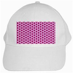 Cute Pretty Elegant Pattern White Baseball Cap