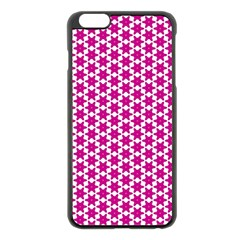 Cute Pretty Elegant Pattern Apple Iphone 6 Plus Black Enamel Case by creativemom