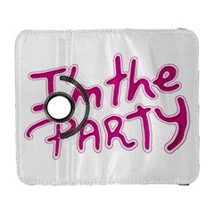 I Am The Party Typographic Design Quote Samsung Galaxy S  Iii Flip 360 Case by dflcprints