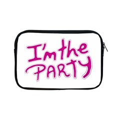 I Am The Party Typographic Design Quote Apple Ipad Mini Zippered Sleeve by dflcprints