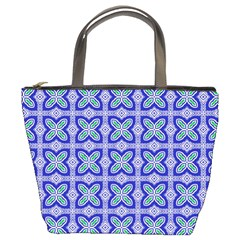 Cute Pretty Elegant Pattern Bucket Handbag by creativemom