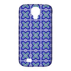 Cute Pretty Elegant Pattern Samsung Galaxy S4 Classic Hardshell Case (pc+silicone) by creativemom
