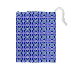 Cute Pretty Elegant Pattern Drawstring Pouch (large)