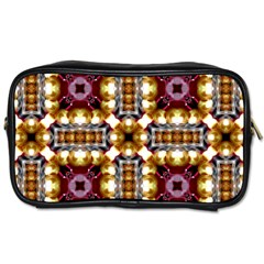 Cute Pretty Elegant Pattern Travel Toiletry Bag (one Side) by creativemom