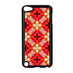 Cute Pretty Elegant Pattern Apple Ipod Touch 5 Case (black) by creativemom