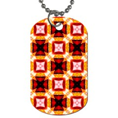 Cute Pretty Elegant Pattern Dog Tag (two Sided)  by creativemom