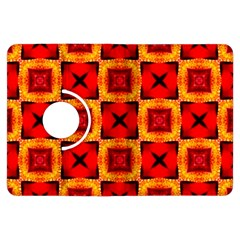 Cute Pretty Elegant Pattern Kindle Fire HDX Flip 360 Case by creativemom
