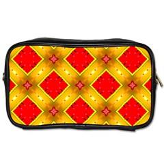 Cute Pretty Elegant Pattern Travel Toiletry Bag (two Sides) by creativemom