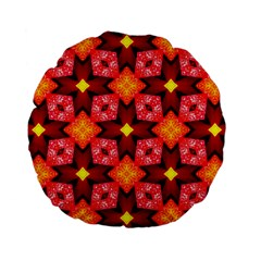 Cute Pretty Elegant Pattern 15  Premium Flano Round Cushion