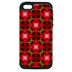 Cute Pretty Elegant Pattern Apple Iphone 5 Hardshell Case (pc+silicone) by creativemom